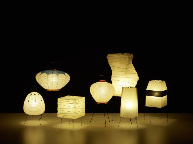 Akari Light Sculptures
