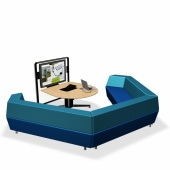 Steelcase media:scape lounge - Intera