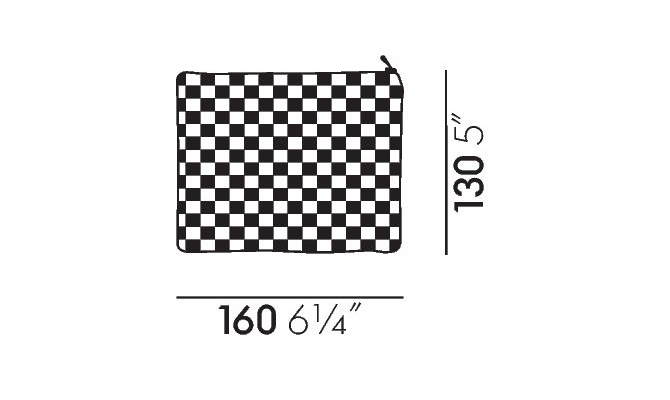 Vitra Zip Pouch kotikesed - Intera