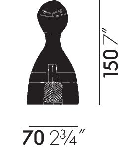Vitra Wooden Doll nr 15 - Intera